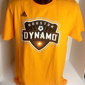 Adidas Houston Dynamo Graphic T-Shirt Medium